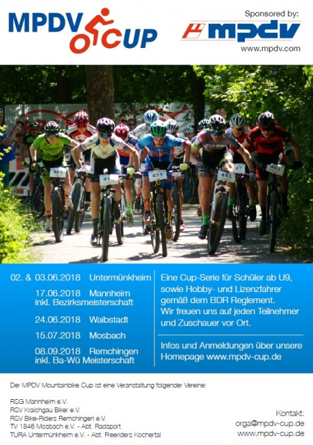 MPDV Mountainbike Cup am 2. - 3. Juni 2018